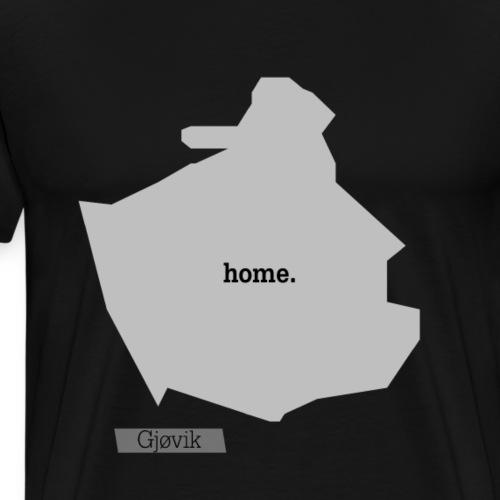 Hjemby Gjøvik - Premium T-skjorte for menn
