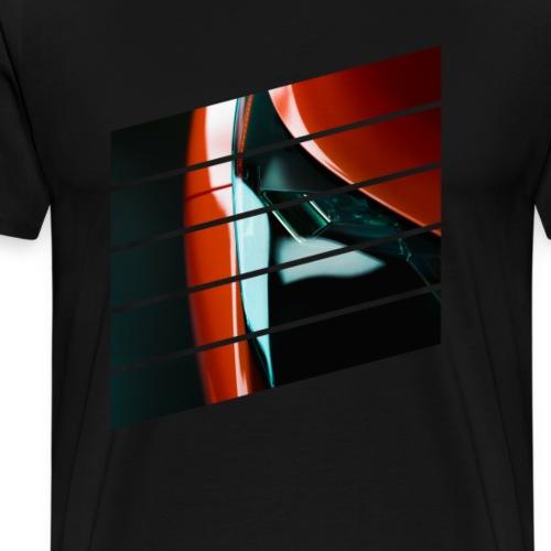 Light - sport car - Premium T-skjorte for menn