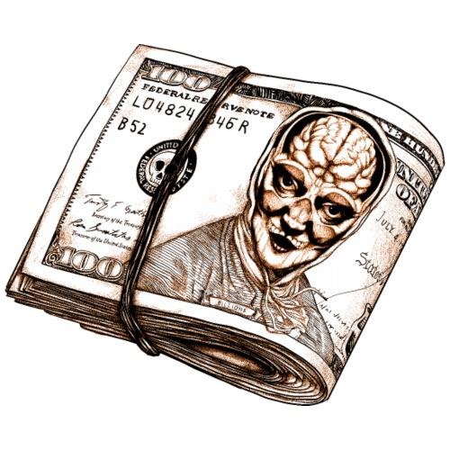 Brain Dollar - Camiseta premium hombre
