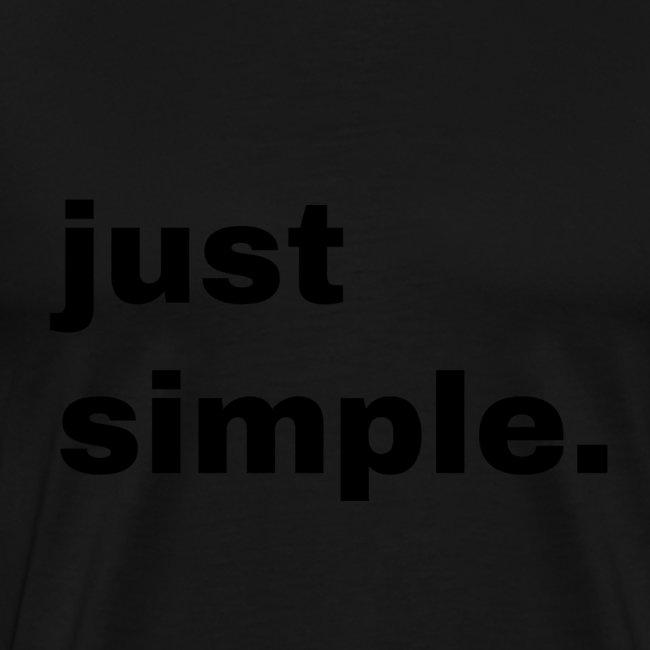 just simple. Geschenk Idee Simple