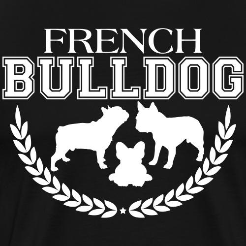 French Bulldog College - Männer Premium T-Shirt