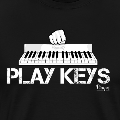 Play Keys - Men's Premium T-Shirt
