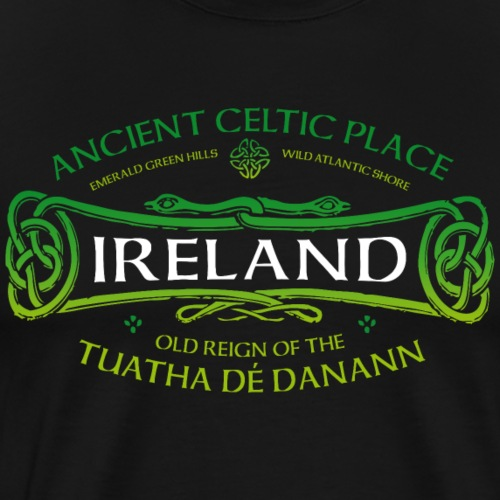 Ireland Ancient Celtic 01 - Männer Premium T-Shirt
