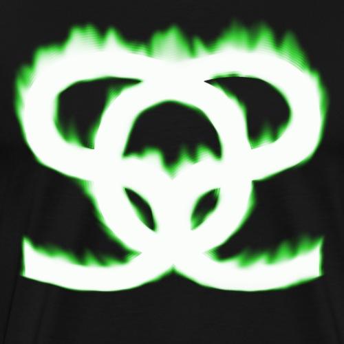 SoS on fire - Männer Premium T-Shirt
