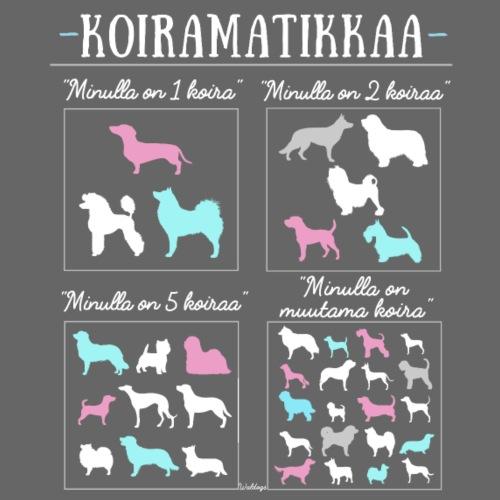 Koiramatikkaa II - Miesten premium t-paita