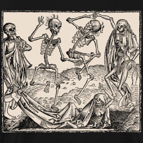 Totentanz / Dance of macabre - Männer Premium T-Shirt