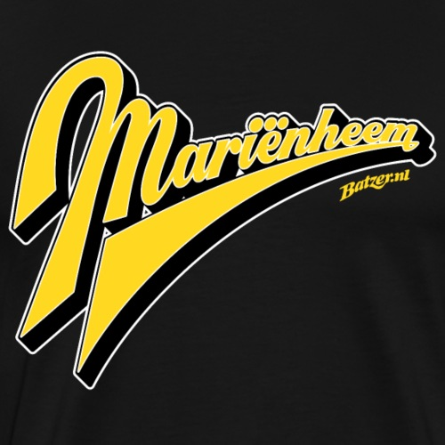 Batzer Salland series Mariëmheem script kleur - Mannen Premium T-shirt