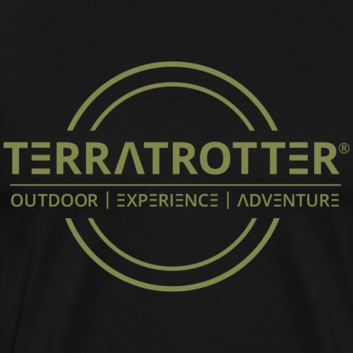 Terratrotter® | Green - Men's Premium T-Shirt