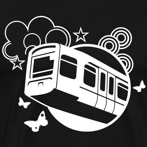 Wuppertal Schwebebahn T Shirt Design To the Stars - Männer Premium T-Shirt