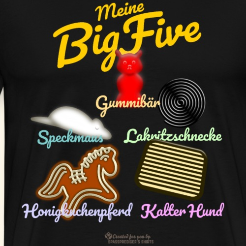Big Five | Geek T-Shirts - Männer Premium T-Shirt