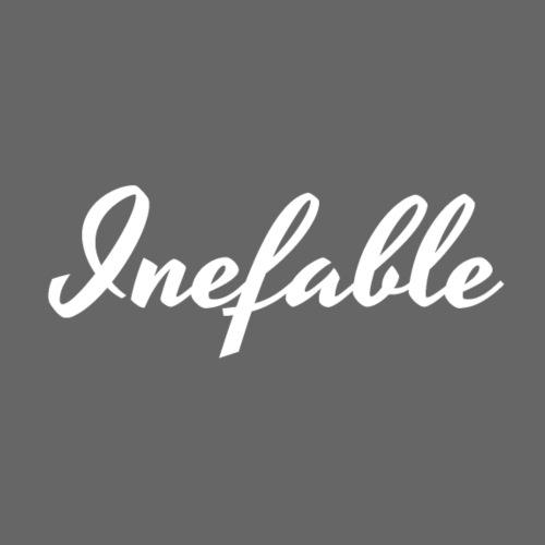 Inefable Blanco. - Camiseta premium hombre