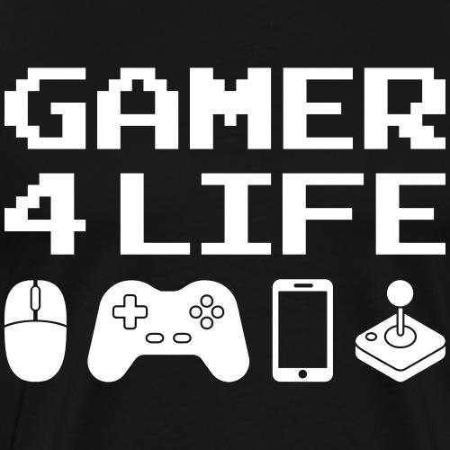 GAMER 4 LIFE - T-shirt Premium Homme