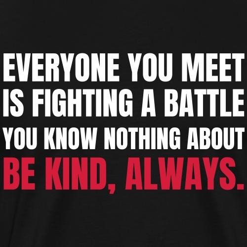 Be Kind - Maglietta Premium da uomo