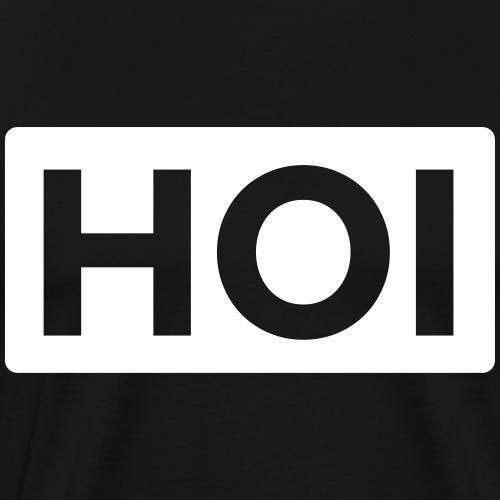 HOI | White - Männer Premium T-Shirt
