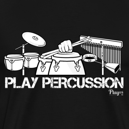 Play Percussion - Men's Premium T-Shirt