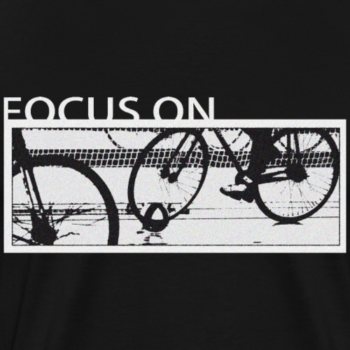 Radball Focus On - Männer Premium T-Shirt