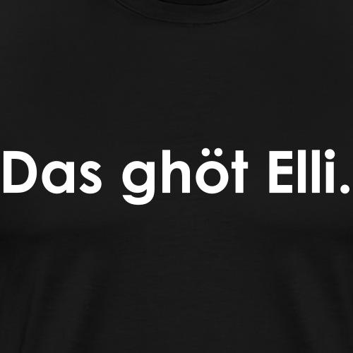 Elli | White - Männer Premium T-Shirt