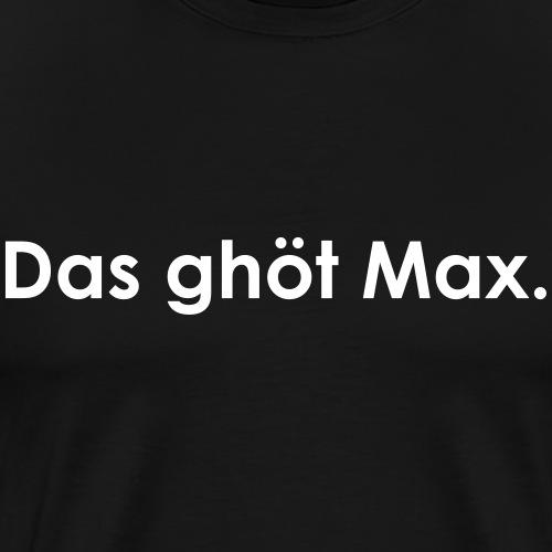 Max | White - Männer Premium T-Shirt