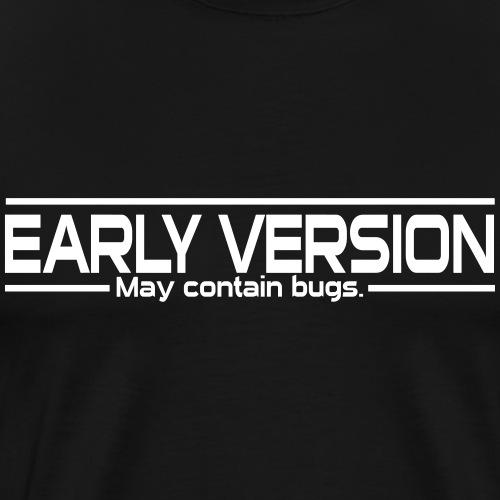 Nerd with bugs - Männer Premium T-Shirt