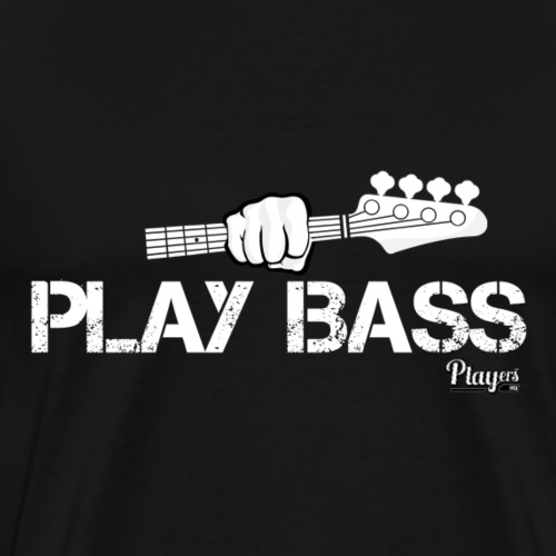 Play Bass - Men's Premium T-Shirt
