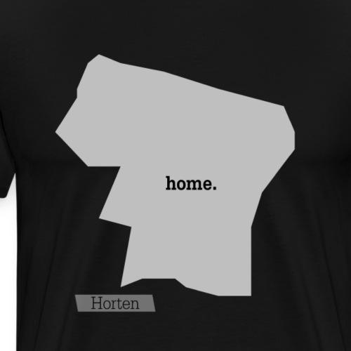 Hjemby Horten - Premium T-skjorte for menn