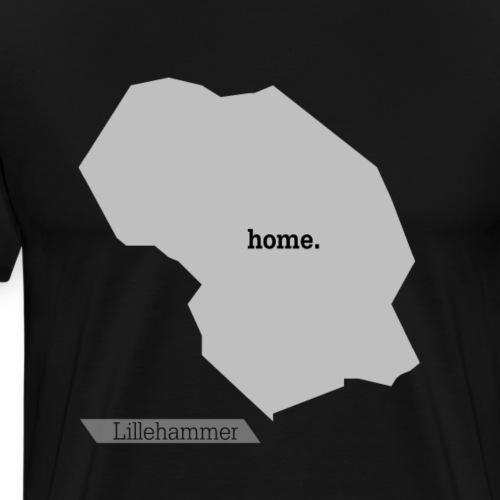 Hjemby Lillehammer - Premium T-skjorte for menn