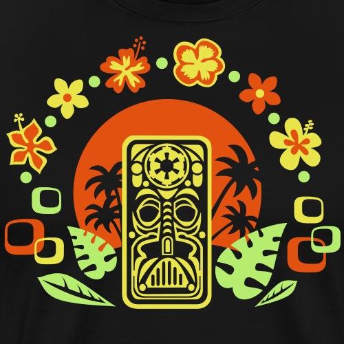 The Dark Side of Tiki - Männer Premium T-Shirt