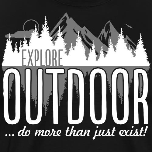 Explore Outdoor - Männer Premium T-Shirt