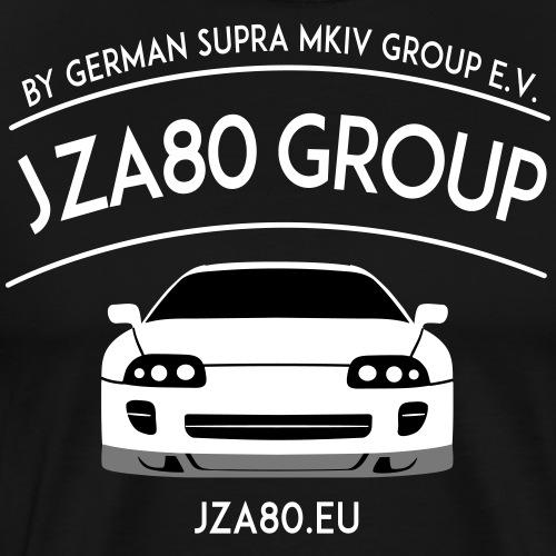 JZA80 Group - Frameless Logo - Männer Premium T-Shirt