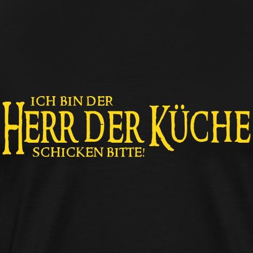 Herr der Küche - Männer Premium T-Shirt