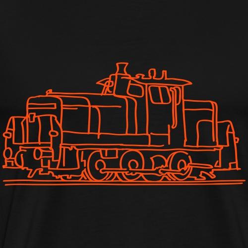 Diesel-Lokomotive - Männer Premium T-Shirt