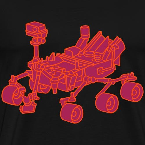 Curiosity Marsrover 2 - Männer Premium T-Shirt