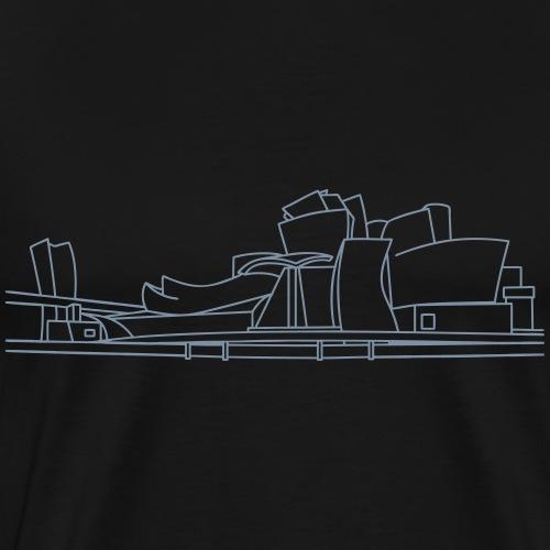 Guggenheim Museum Bilbao - Männer Premium T-Shirt