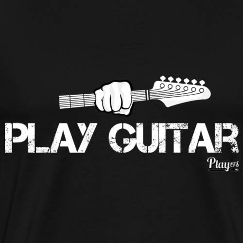 Play Guitar - Men's Premium T-Shirt