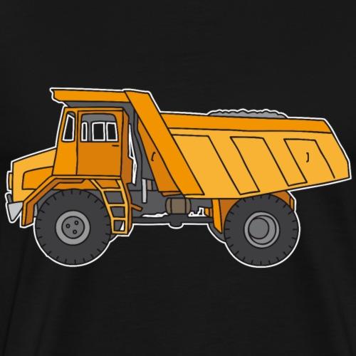 Kipplaster, Muldenkipper - Männer Premium T-Shirt