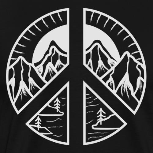 Peace Mountain - Männer Premium T-Shirt
