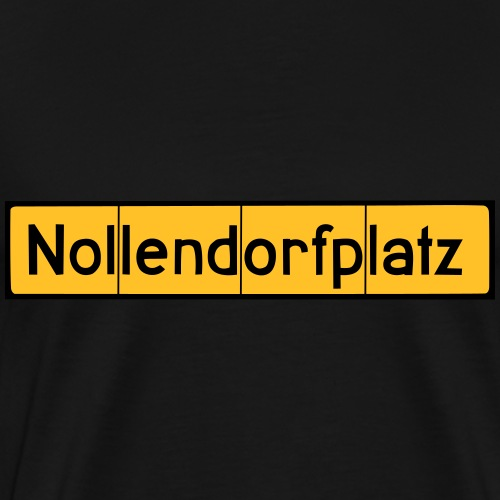 Nollendorfplatz Berlin - Schöneberg - Koszulka męska Premium