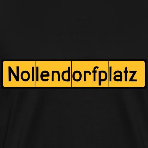 Nollendorfplatz Berlin - Schöneberg - Männer Premium T-Shirt