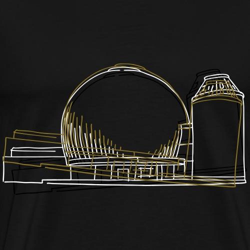 planetario di Berlino - Maglietta Premium da uomo