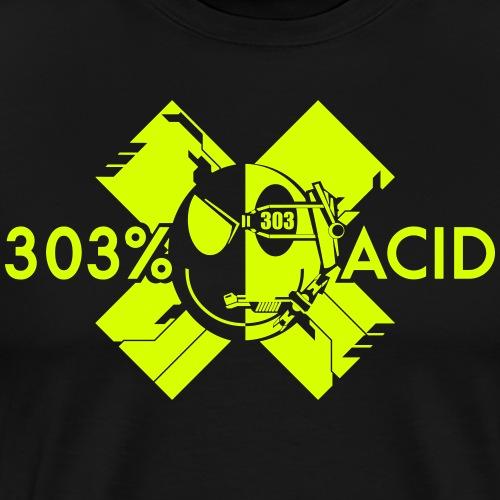 LOGO ACIDTEKNO - Men's Premium T-Shirt