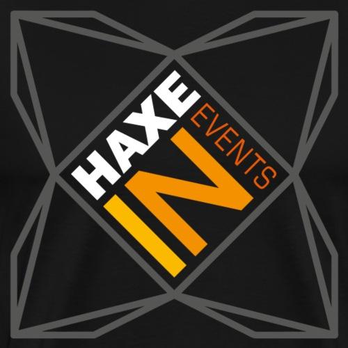 HaxeIN Events - Dark Grey Frame - T-shirt Premium Homme