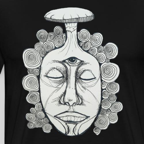 Drittes Auge - Männer Premium T-Shirt