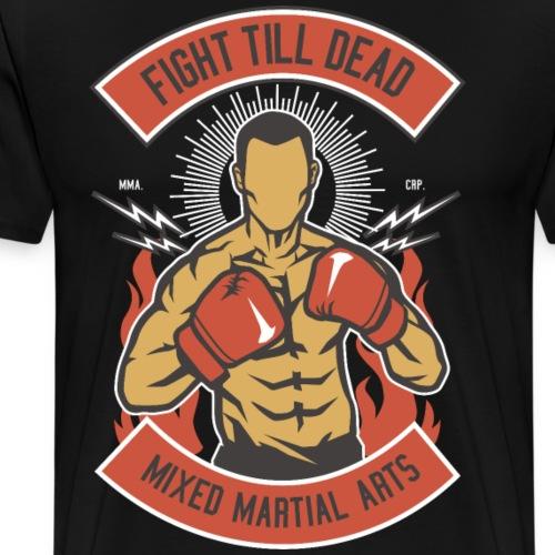 Luchar hasta el final Boxeo Artes Marciales Mixtas