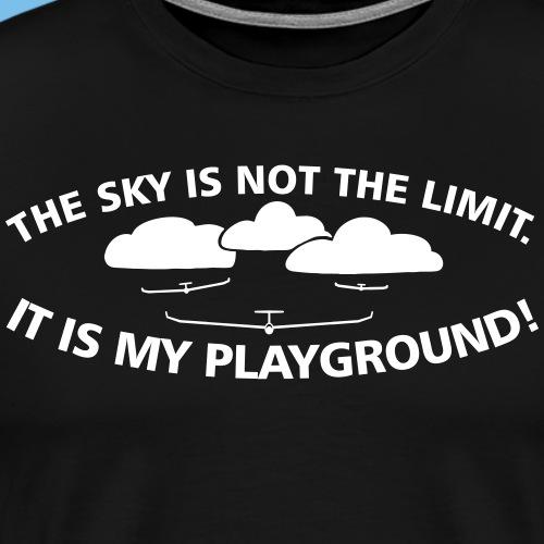 Segelflieger Geschenk gleiten - Männer Premium T-Shirt