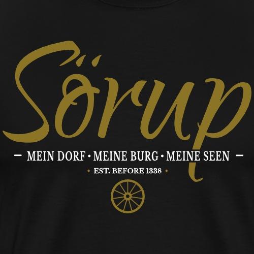 Sörup - ein Dorf in traumhaften Angeln - Männer Premium T-Shirt