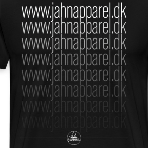 JahnApparel Link Logo - B - Herre premium T-shirt
