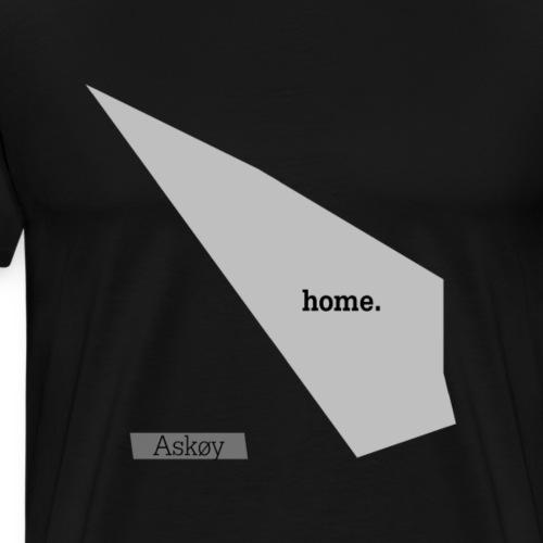Hjemby Askøy - Premium T-skjorte for menn