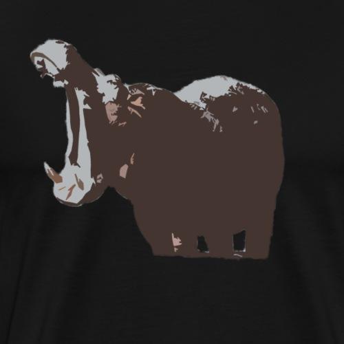 L'Hippopotame - T-shirt Premium Homme