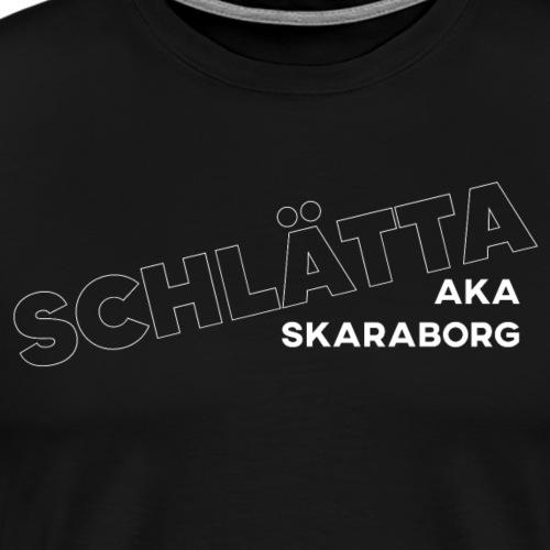 SCHLÄTTA AKA SKARABORG - Men's Premium T-Shirt