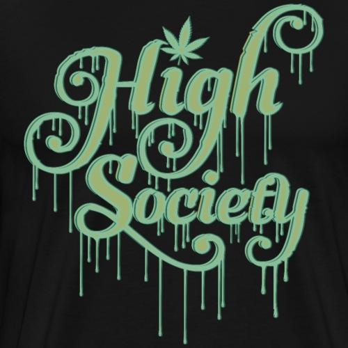 High Society Typo 02 - Männer Premium T-Shirt